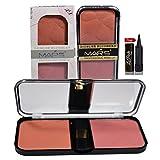 #9: MARS Professional Makeup 2 Color Blushers with Laperla kajal