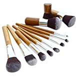Best Conjuntos Vovotrade Brocha - vovotrade 11pcs cepillo de bambú de lino bolsa Review