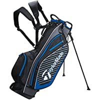 TAYLORMADE 2018 PRO 6.0 DUAL CARRY STRAP GOLF CARRY STAND PLUS 10 FREE Golfmad iron Covers