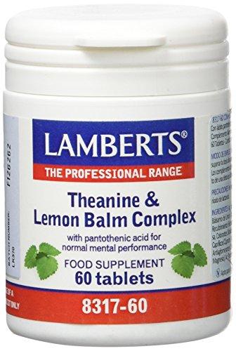 Lamberts L Teanina con Balsamo de Limon - 60 Tabletas