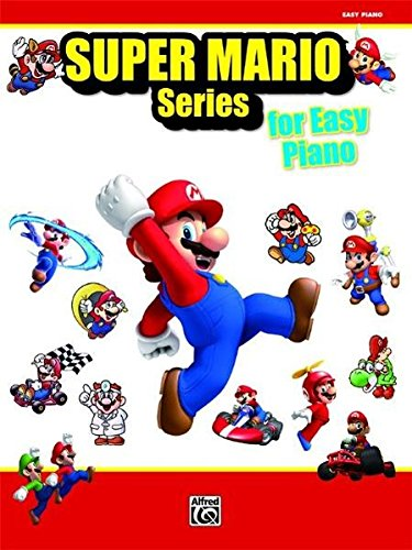 Super Mario Series for Easy Piano (Mario Piano Noten)