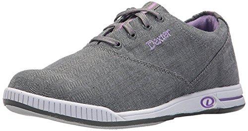 Dexter Kerrie Damen-Bowling-Schuhe Größe 36-41 in Grau Lavendell Größe 36 -