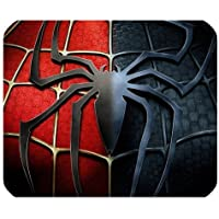 Mystic Zone Personalized Spiderman Rectangle Mouse Pad (Black)
