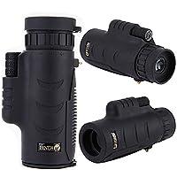 UrChoiceLtdŽ NEW PANDA 8x42 Monoculars Mini HD Low Light Night Vision Waterproof Monocular Telescope Zoom Pocket-Size BLACK Outdoor Gear