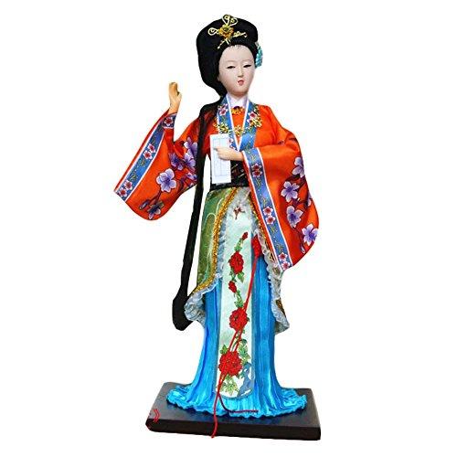 Blancho Traditionelle chinesische Kunst Silk Figuren Chinesische Puppe Chinesische Figuren-JIA Yingchun