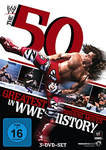 WWE - The 50 Greatest Finishing Moves in WWE History [3 DVDs] - Wwe Dvd-2012