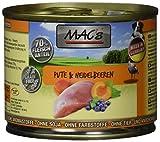 Mac's Pute & Heidelbeeren, 6er Pack (6 x 200 g)