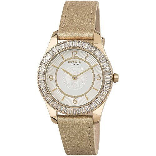 Women's Chantal Steel Watch with stones gold Tribe Breil