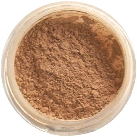 Doll Face miel Mineral Base Maquillaje Oscuro Cutis 6 g