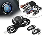 Accreate 9 in 1 Start Push Button Remote Starter Keyless Entry Car SUV Alarm System Engine