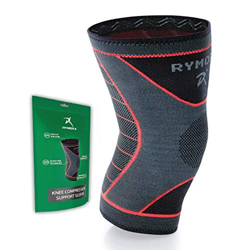 Knee Support Sleeve for Women and Men (Concaved Version) (Single Wrap) (XS) - Compression Brace for Ligament Injury, Joint Pain Relief, Running, Arthritis, ACL, MCL, Sport