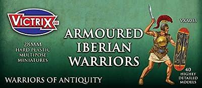 Victrix VXA013 - Ancient Iberian Armoured Warriors - 40 Figure Set - 28mm Plastic Miniatures - Warrior of Antiquity