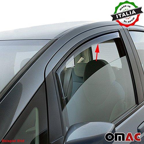 Omac GmbH Opel Antara Chevrolet Captiva Windabweiser Regenabweiser 2 tlg Vorne ab 2007