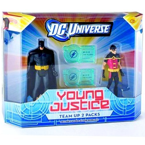 DC Universe Young Justice Batman & Robin the Dynamic Duo (Robin Young Justice)