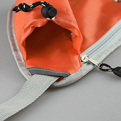 """""""Old Bird Wandern Taille Pack, Radfahren Schultertragetasche Tasche Orange"""