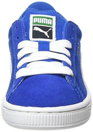 Puma 360757, Baskets Basses Garçon Bleu (Snorkel Blue/White)