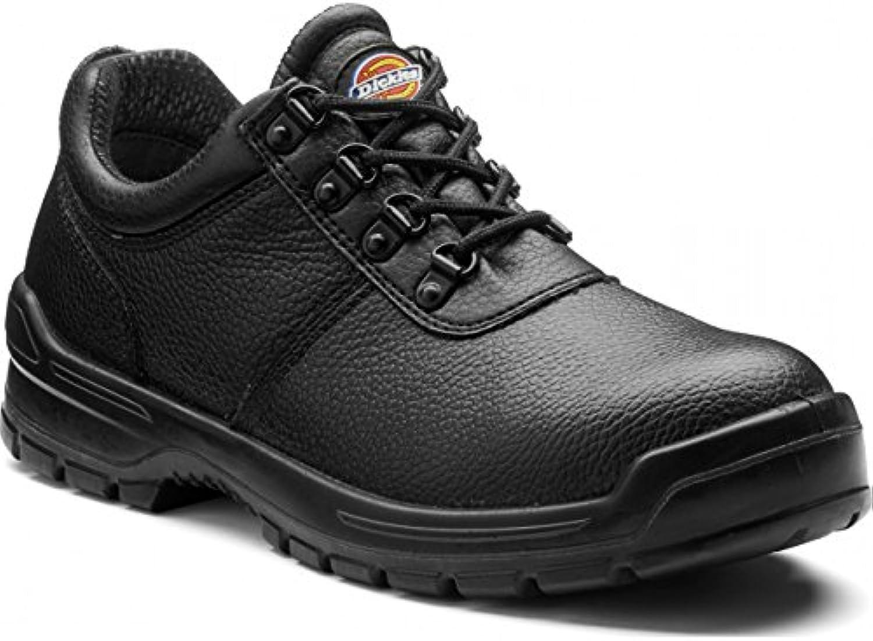 Dickies FA13310A-7 Clifton II - Zapatillas de seguridad (talla 7), color negro
