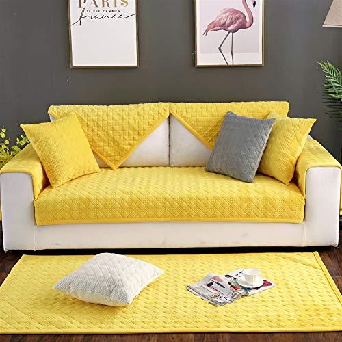 Liveinu Fleece Plüsch Warm Matte mit Anti-Rutsch Plaid Sofaüberwurf Sesselschutz Spielmatte...
