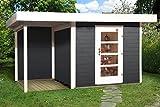 weka Designhaus 172 A Gr.2, anthrazit, 28 mm, ET, Anbau 150 cm, ohne RW