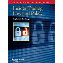 Insider Trading Law and Policy (Concepts and Insights Series) (English Edition)