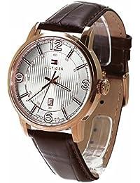 Tommy Hilfiger Herren-Armbanduhr Analog Quarz Leder 1710346