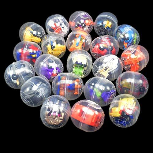 ZJL220 Mini Deformable Roboter Überraschung Eier Überraschungsball Überraschungspuppe Gashapon...