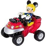 Imc - 181915 - Jeux de construction - Quad Pompier Mickey + 1 Figurine