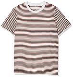 SELECTED FEMME Damen T-Shirt Sfmy Perfect SS Tee-Box Cut-STRI. Noos, Mehrfarbig (Burlwood), 40 (Herstellergröße: L)