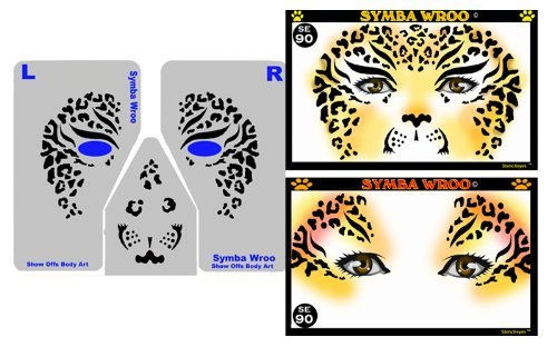 face-painting-stencil-stencileyes-symba-wroo-cheetah-by-showoffs-body-art