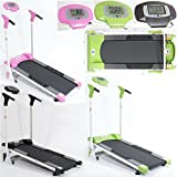 Gym Master Treadmill Self-Powered Folding Magnetic Exercise Equipment, Manual Machine - Fitness Home Gym