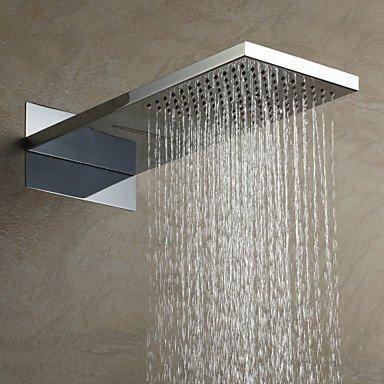 miaoge 55× 23cm eine Klasse abs verchromt regen Duschkopf (Waterpik Regen Duschkopf)