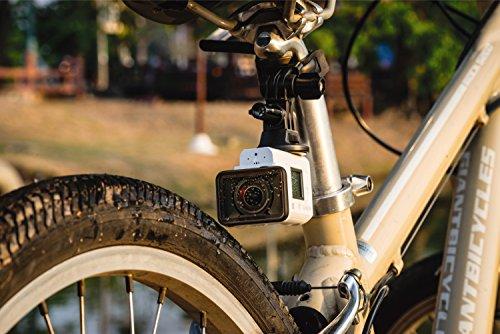 Sony FDR-X3000R 4K Action Cam mit BOSS (Exmor R CMOS Sensor, Carl Zeiss Tessar Optik, GPS, WiFi, NFC) mit RM-LVR3 Live View Remote Fernbedienung, weiß - 36