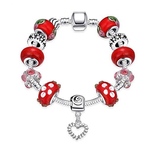 chnalle Kette Perlen Hand Ornamente, DIY-Kristall Armband (Boxen Kostüm Diy)