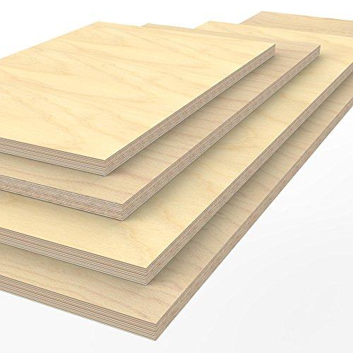 Profi Multiplexplatte 1250 x 600 x 40 mm Werkbankplatte Arbeitsplatte (von 125cm - 200cm lieferbar...