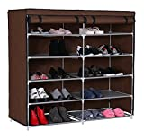 #6: Anva 4 Layer Easy to Assemble & light Weight Foldable 4 Shelves Shoe Rack *LIMITED PERIOD OFFER*