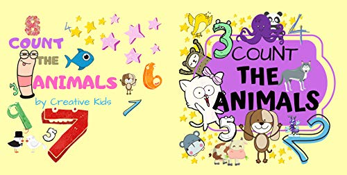Count The Animals: Fun Picture Puzzle Book for 2-5 Year Olds | Activity and Guessing Game for Little Kids| Find Hidden Animals| 34 Pages (English Edition)