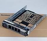Heretom F238F 0F238F 3,5-Zoll SAS SATA Festplattenrahmen Tray Caddy für Dell Poweredge R730 R720 R710 T710 R630 R620 T620 R610 T610 R530 R520 R420 R410 T420 R320 T320 MD1400 MD3400
