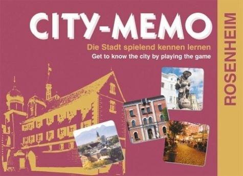 Preisvergleich Produktbild CITY-MEMO Rosenheim: Die Stadt spielend kennen lernen