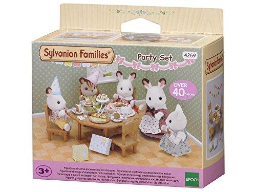 Sylvanian Families - 4269 - Set de Surprise Partie - Poupées et Accessoires - Sylvanian