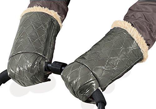 Cozycoop Stroller Hand Muffs with Pocket (Gray)
