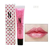 Lipgloss Gaddrt Süßigkeits-Farblippen-Glanz-wasserdichter Glitter-flüssiger Lippenstift-langlebiges Make-up (F)