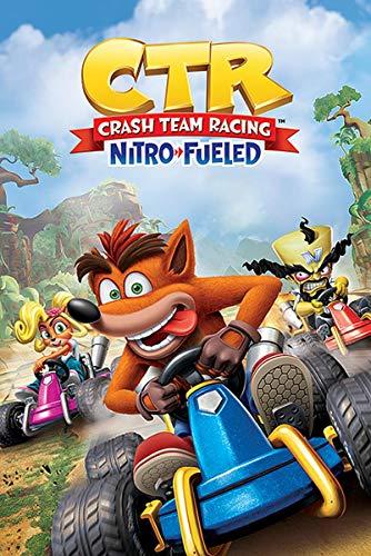 Crash Team Racing Poster CTR Nitro Fueled (61cm x 91,5cm)