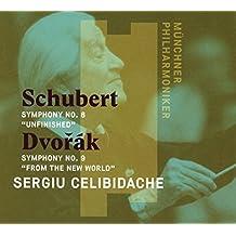 Dvorak : Symphonie N°9 / Schubert : Symphonie N°8