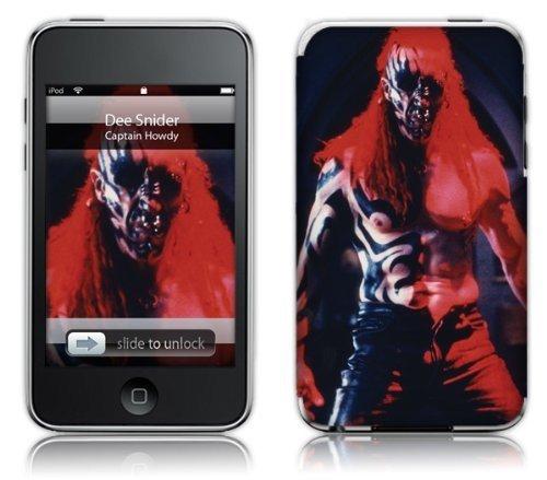 MusicSkins - Skin protettiva per Apple iPod Touch 2G/3G, motivo Dee Snider Captain
