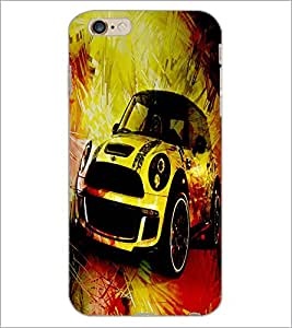 PrintDhaba Car D-2818 Back Case Cover for APPLE IPHONE 6S PLUS (Multi-Coloured)