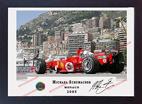 Michael Schumacher Ferrari SIGNED Autograph Motor Sport Kuriositäten Formel 1