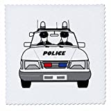 3drose QS _ 39633_ 2Polizei Auto mit 2policemen-quilt