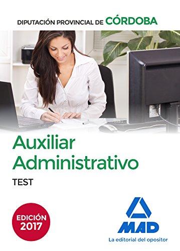 Auxiliares Administrativos de la Diputación Provincial de Córdoba. Test