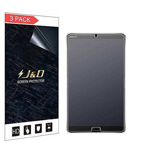 J und D [3er Packung] Huawei MediaPad M5 8.4 inch Bildschirmschutzfolie, [Antireflektierend] [Anti Fingerabdruck] Hochwertige Matte Folie Schutzschild Bildschirmschutzfolie für Huawei MediaPad M5 8.4 inch