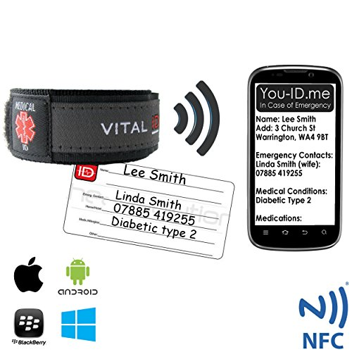 smartphone-readable-medical-identity-bracelet-adult-child-medical-id-wristband-by-vital-id-100-water